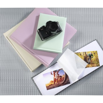 "fam Famille produit - Hama, Album photo ""Fine Art"", 24 x 17 cm, 36 pages blanches, lilas"