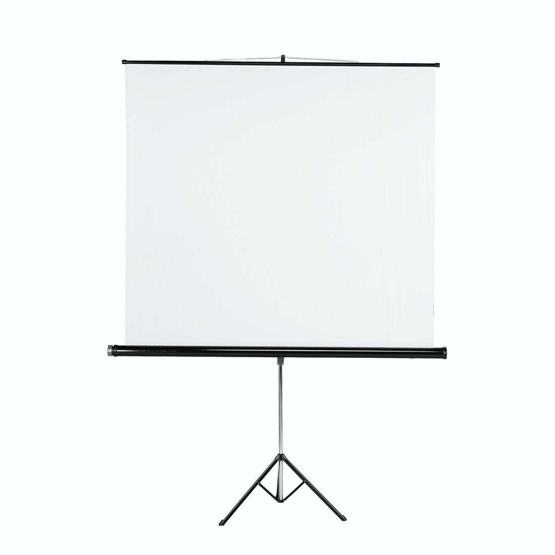 abx High-Res Image - Hama, Ecran de projection sur pied 125 x 125 cm, blanc