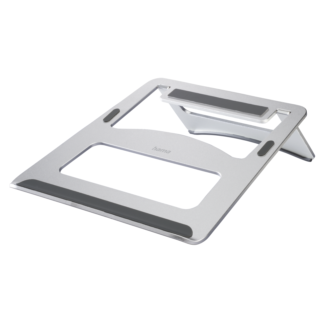 abx High-Res Image - Hama, Support pour ordinateur portable Aluminium, argent