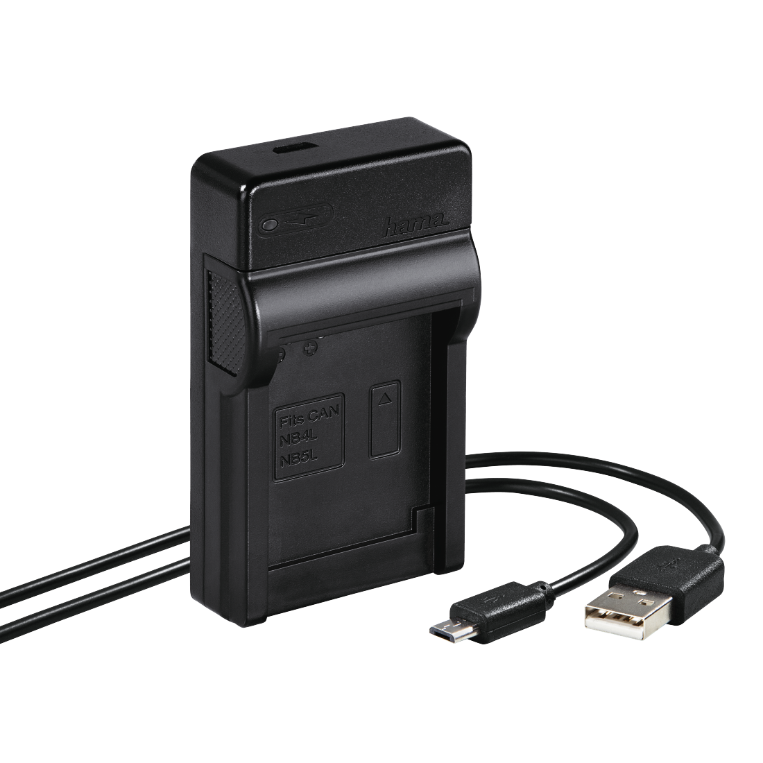 "abx High-Res Image - Hama, Chargeur USB ""Travel"" pour Canon NB-4L/5L"