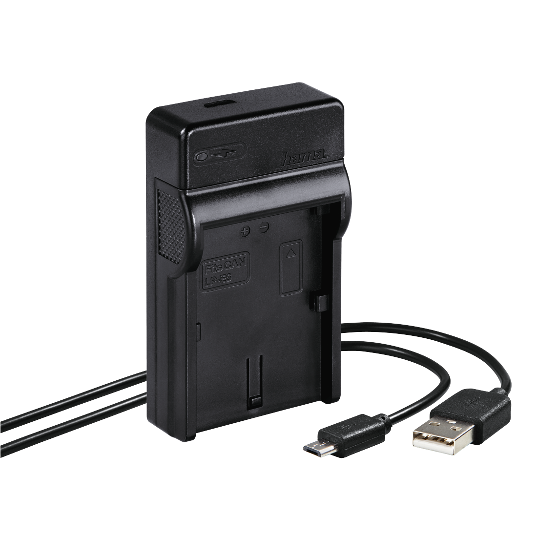 "abx High-Res Image - Hama, Chargeur USB ""Travel"" pour Canon LP-E6"