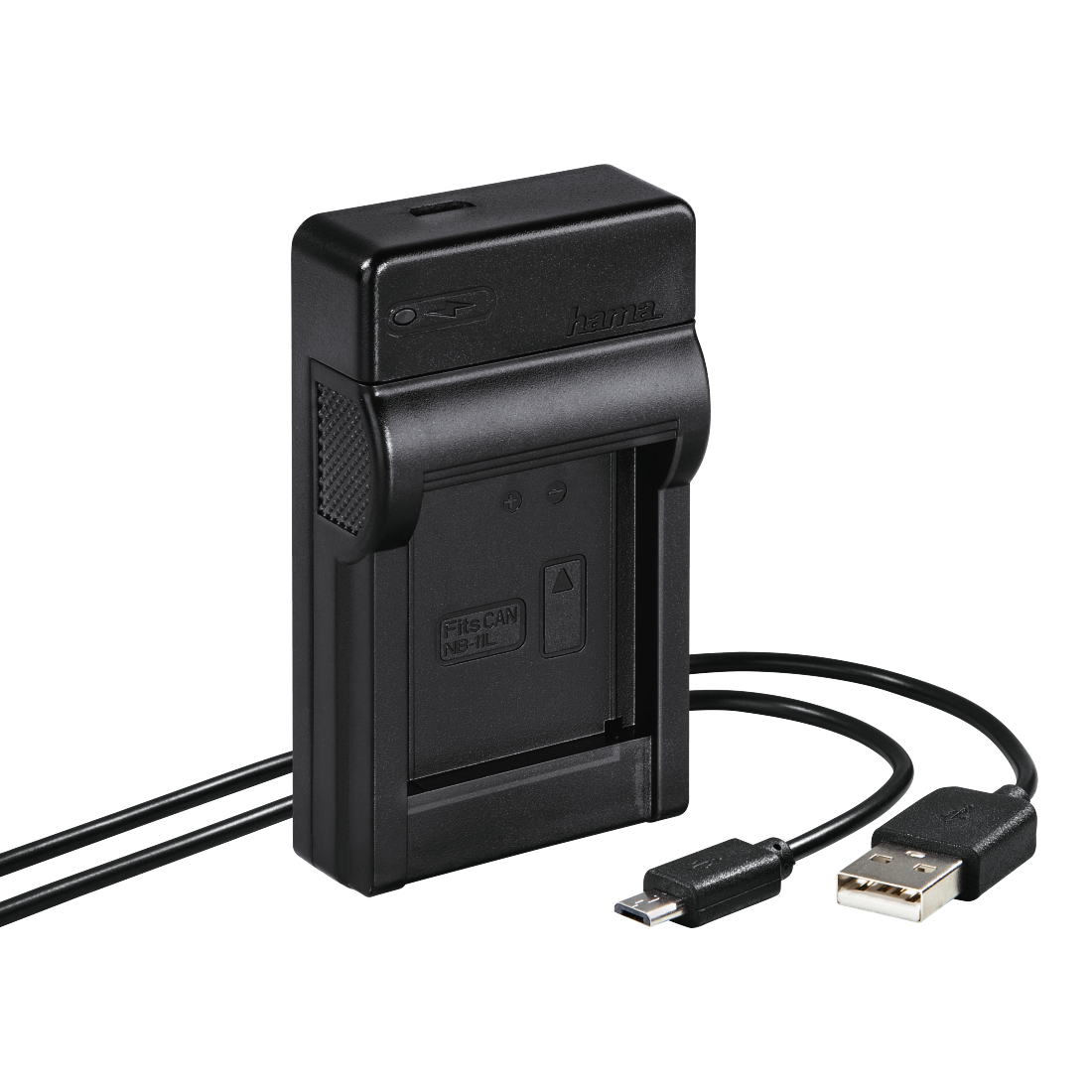 "abx High-Res Image - Hama, Chargeur USB ""Travel"" pour Canon NB-11L"