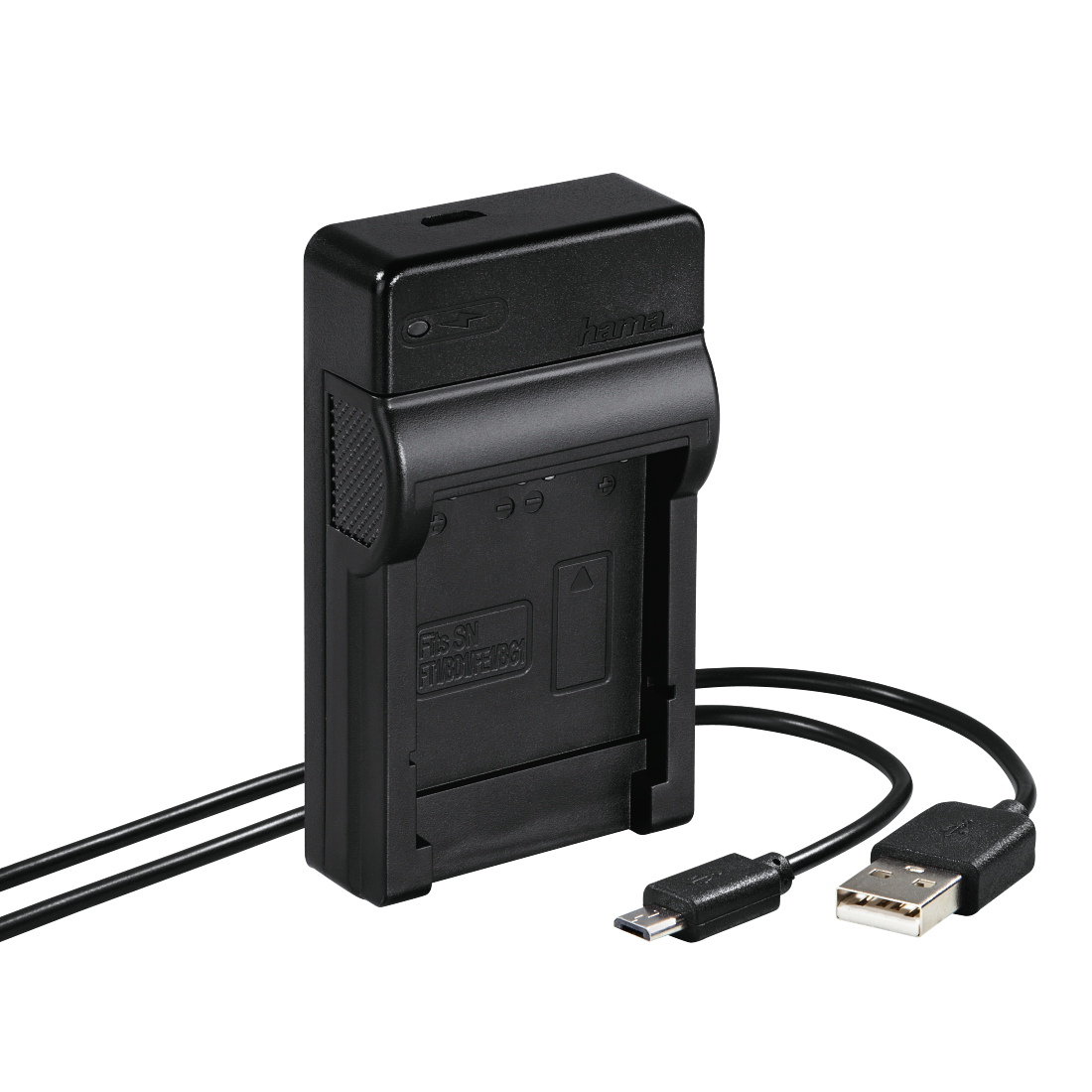 "abx High-Res Image - Hama, Chargeur USB ""Travel"" pour Sony NP-BG1/FG1"