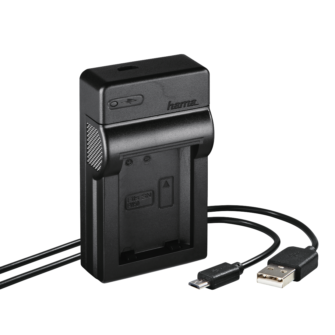"abx High-Res Image - Hama, Chargeur USB ""Travel"" pour Sony NP-FW50"