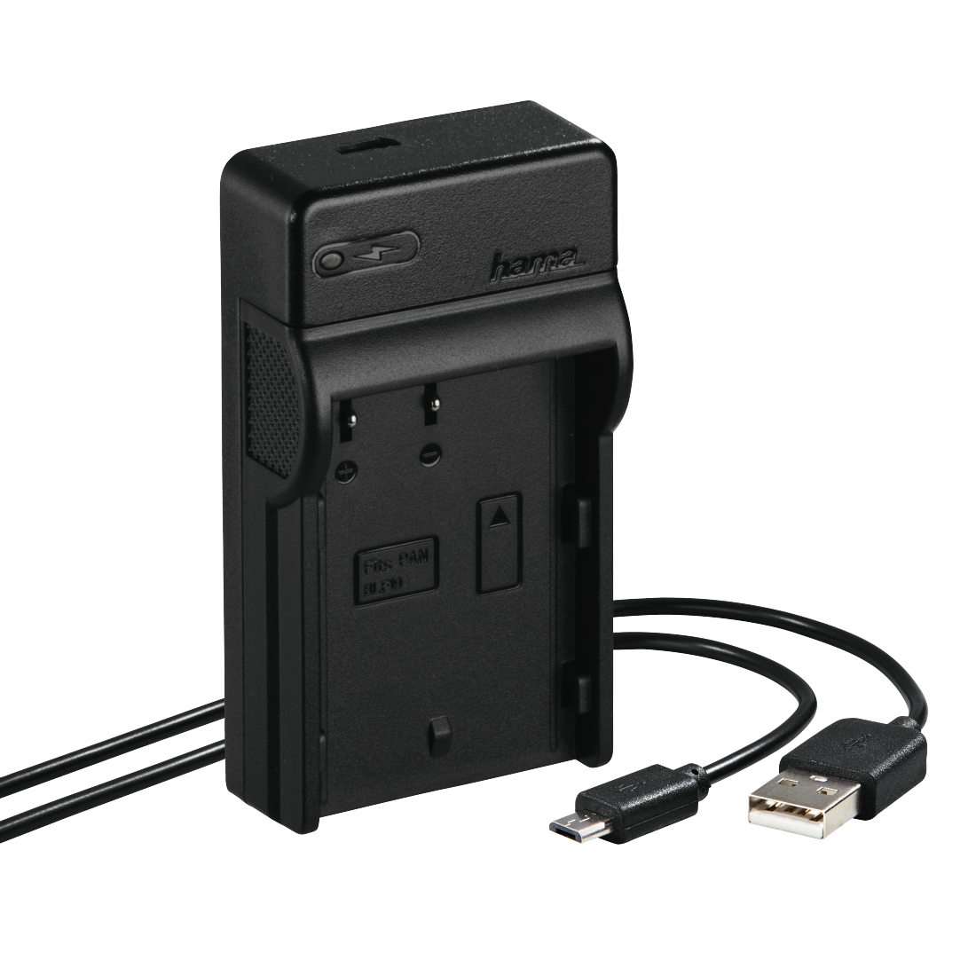 "abx High-Res Image - Hama, Chargeur USB ""Travel"" pour Panasonic DMW-BLF19"