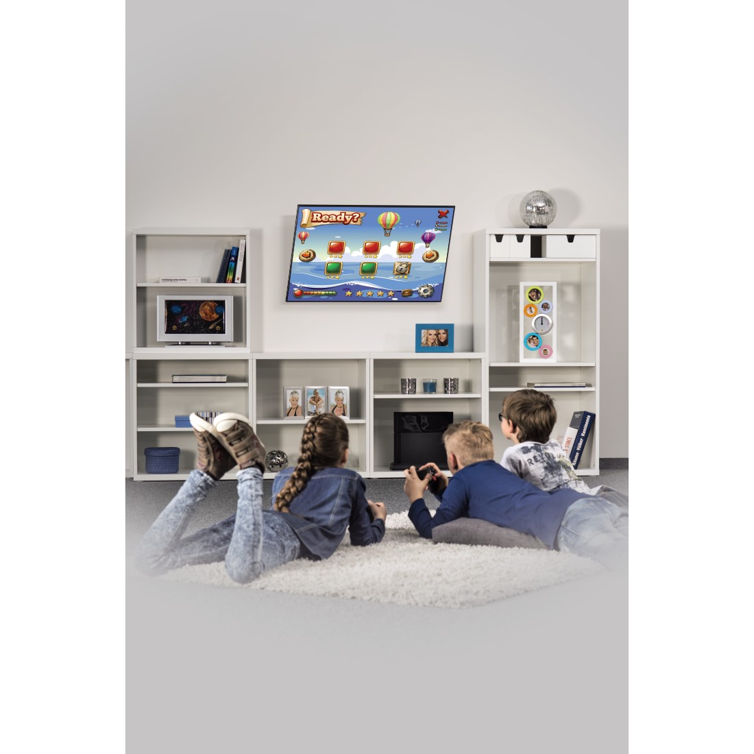 awx2 High-Res Appliance 2 - Hama, Support mural TV inclinable, 3 étoiles, 107 cm (42''), noir