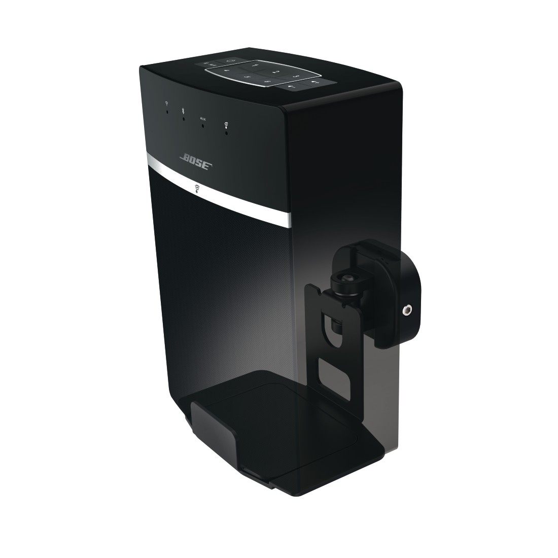 awx High-Res Appliance - Hama, Support mural pour Bose Soundtouch 10/20, noir
