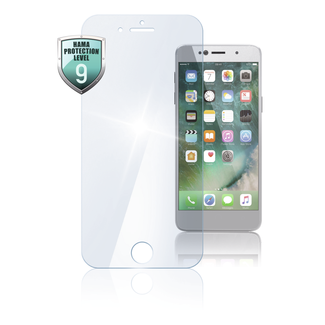 "abx High-Res Image - Hama, Protect. d'écran verre vér. ""Premium Crystal Glass"" pour iPhone5/5s/5c/SE"
