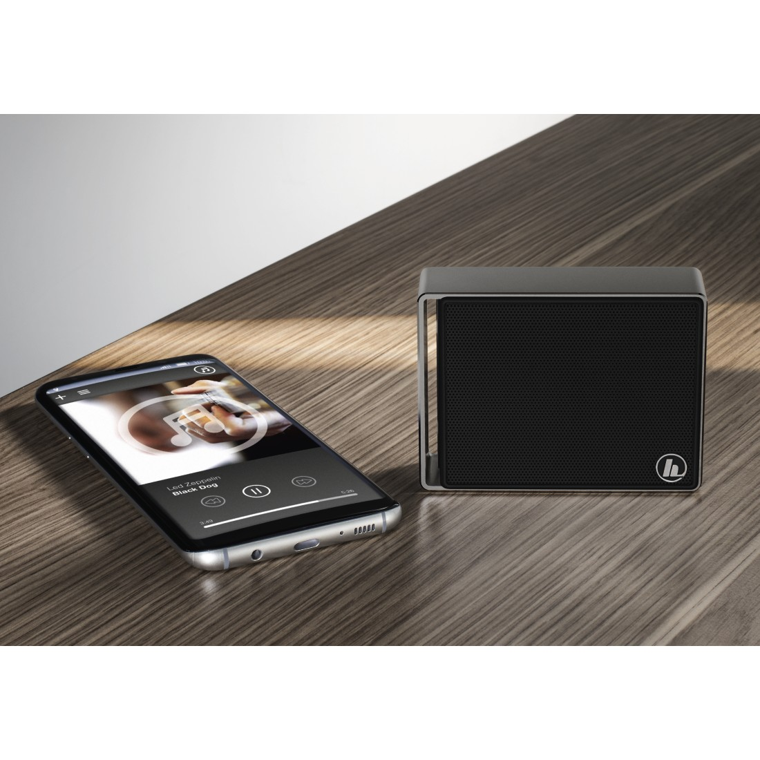 "awx High-Res Appliance - Hama, Enceinte Bluetooth® mobile ""Pocket Steel"", anthracite"