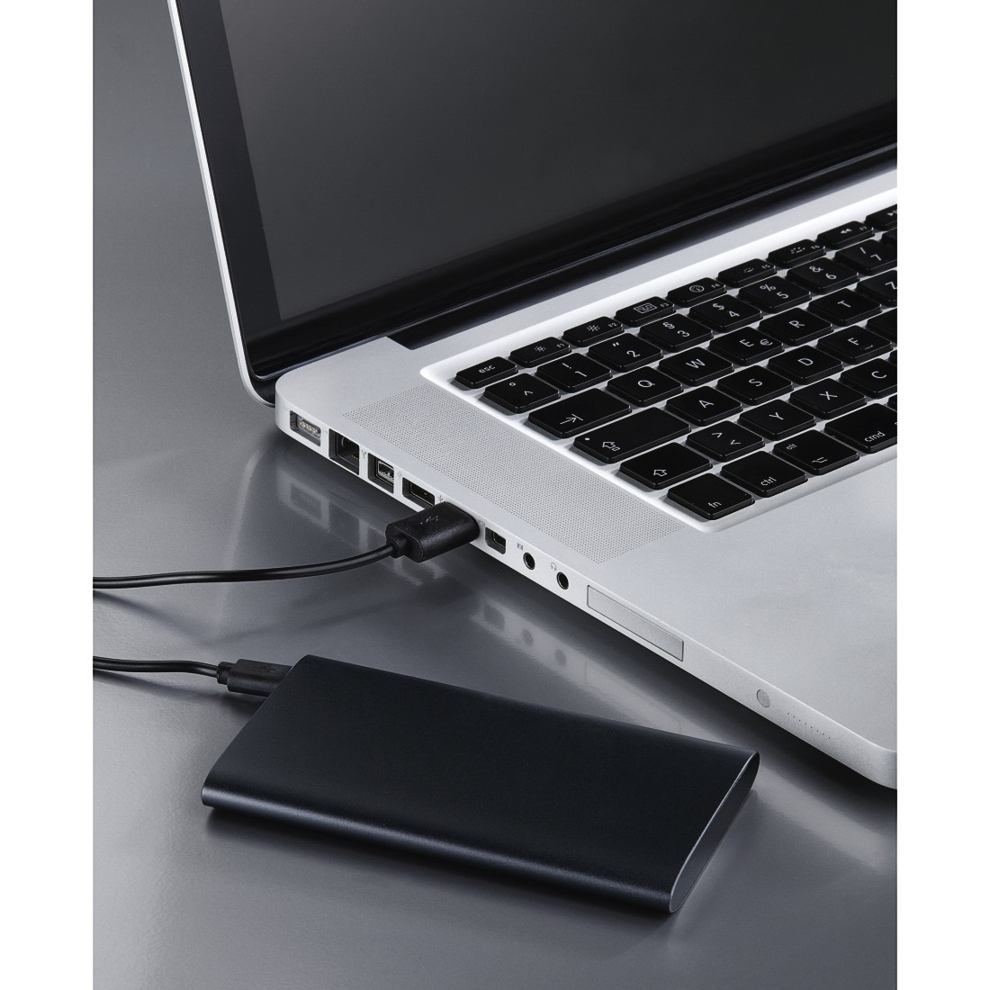 awx2 High-Res Appliance 2 - Hama, Power Pack Premium Alu, 5 000 mAh, anthracite