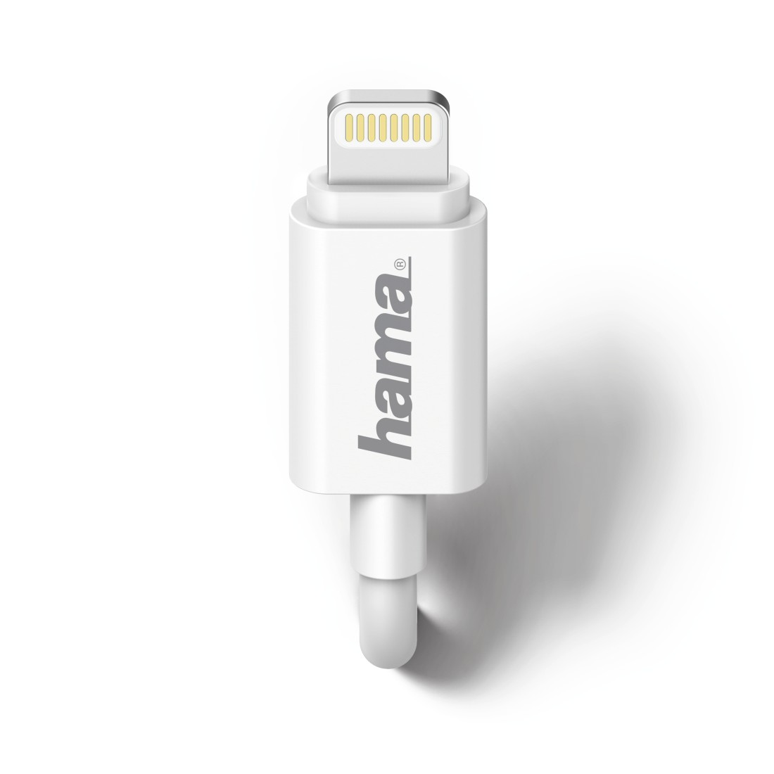 dex High-Res Detail - Hama, Chargeur pour voiture, Lightning, 1A, blanc