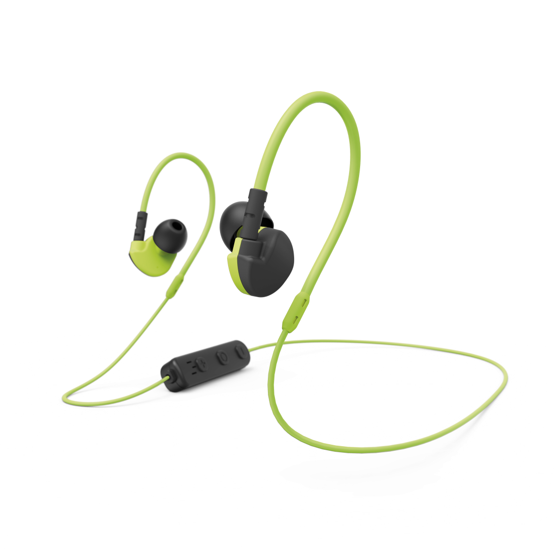 "abx High-Res Image - Hama, Casque sport Bluetooth® ""Active BT"", intr-aur., mic., tr d'or., nr/jne"