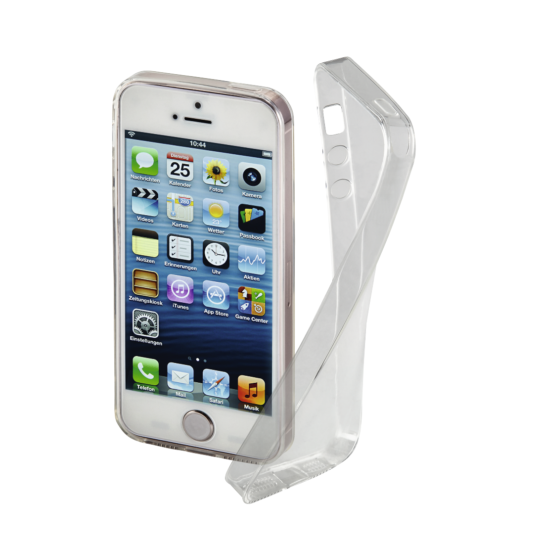 "abx High-Res Image - Hama, Coque ""Clear"" pour Apple iPhone 5/5s/SE, transparente"