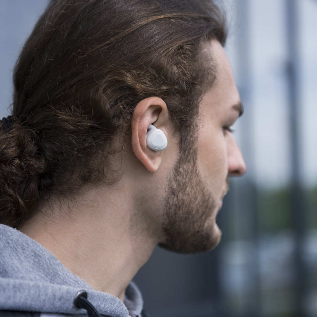 "awx3 High-Res Appliance 3 - Hama, Écout. Bluetooth® ""LiberoBuds"", intr-aur., True Wireless, micro, gris"