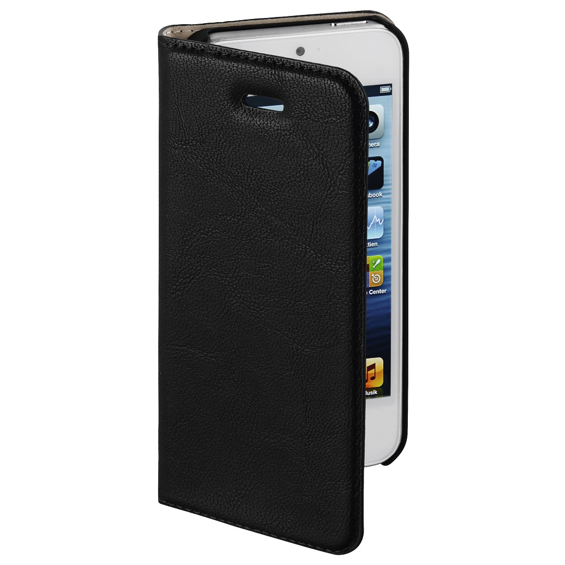 "awx3 High-Res Appliance 3 - Hama, Étui portefeuille ""Guard Case"" pour Apple iPhone 5/5s/SE, noir"