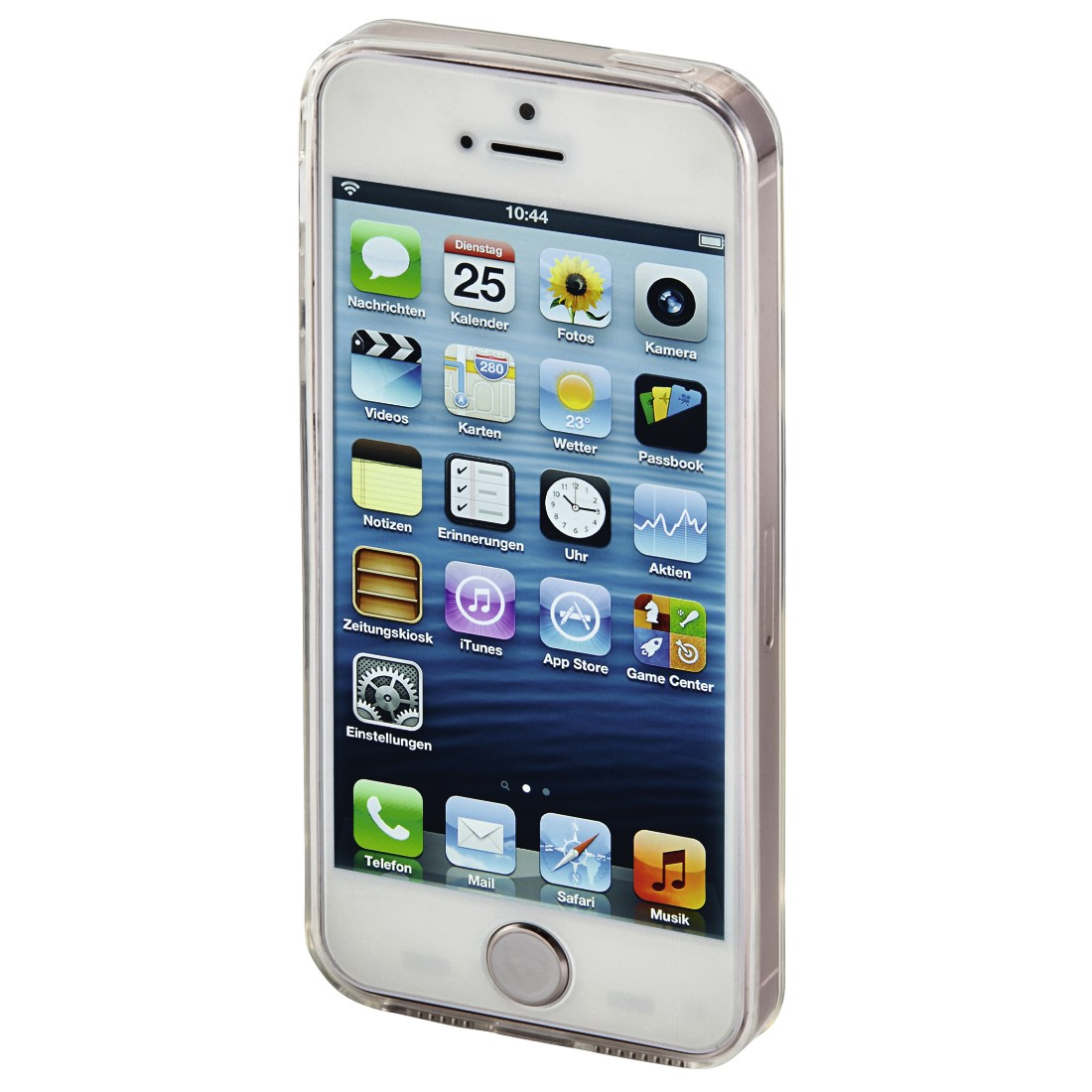 "awx3 High-Res Appliance 3 - Hama, Coque ""Clear"" pour Apple iPhone 5/5s/SE, transparente"