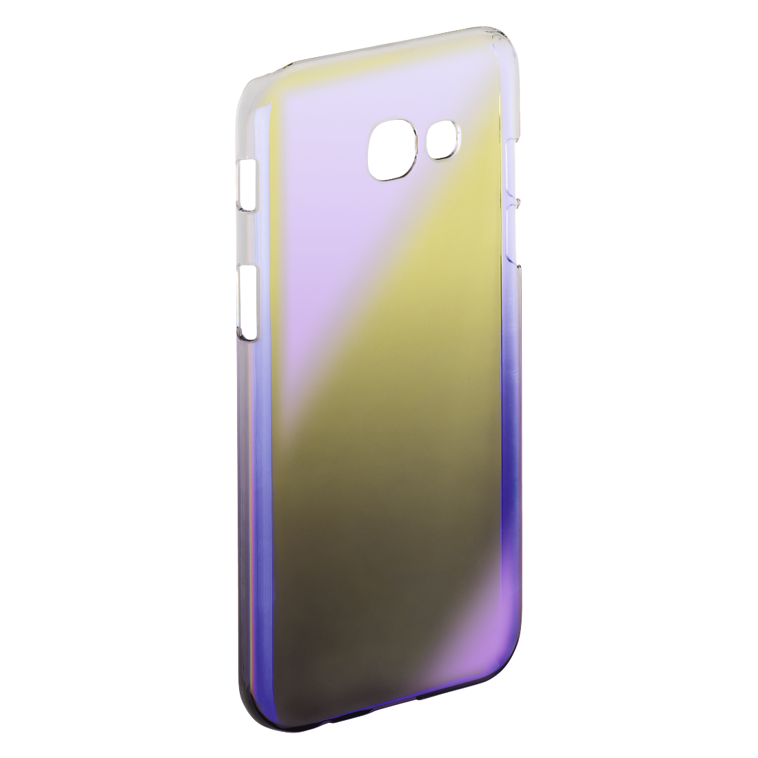 "abx2 High-Res Image 2 - Hama, Coque ""Mirror"" pour Samsung GalaxyA5 (2017), jaune/lilas"