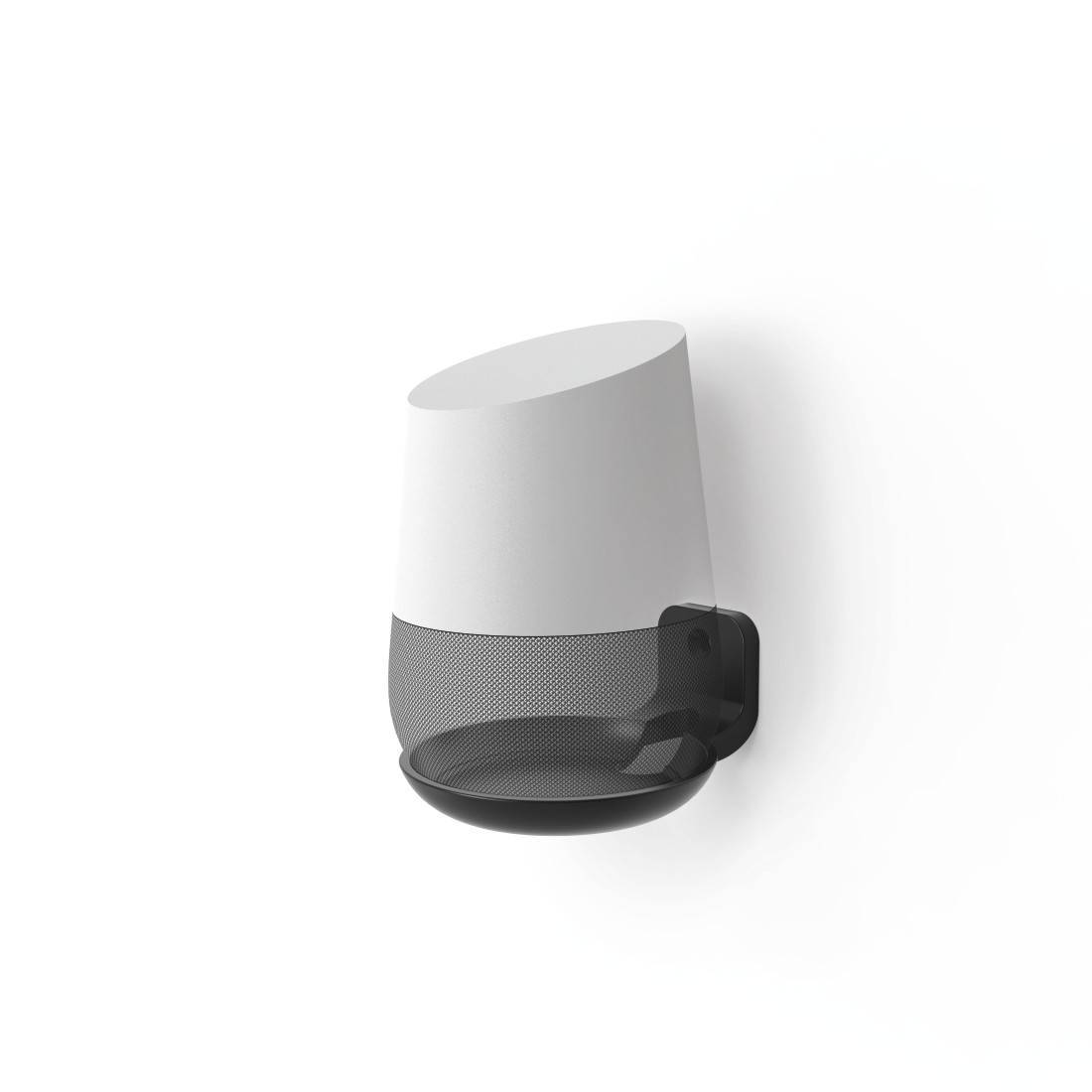 awx High-Res Appliance - Hama, Support mural pour Google Home, noir