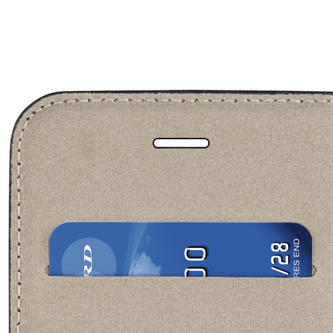 "dex High-Res Detail - Hama, Étui portefeuille ""Guard Case"" pour Huawei P10 Lite, noir"