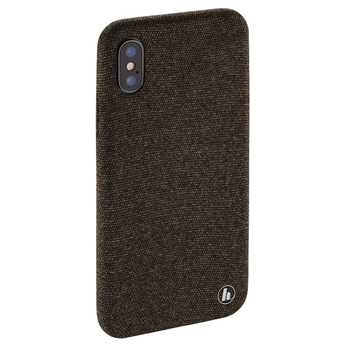 "abx4 High-Res Image4 - Hama, Coque de protection ""Cozy"" pour Apple iPhone X, marron foncé"