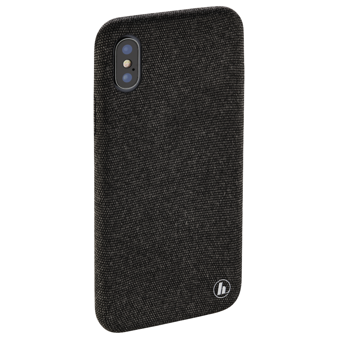 "abx4 High-Res Image4 - Hama, Coque de protection ""Cozy"" pour Apple iPhone X, noir"