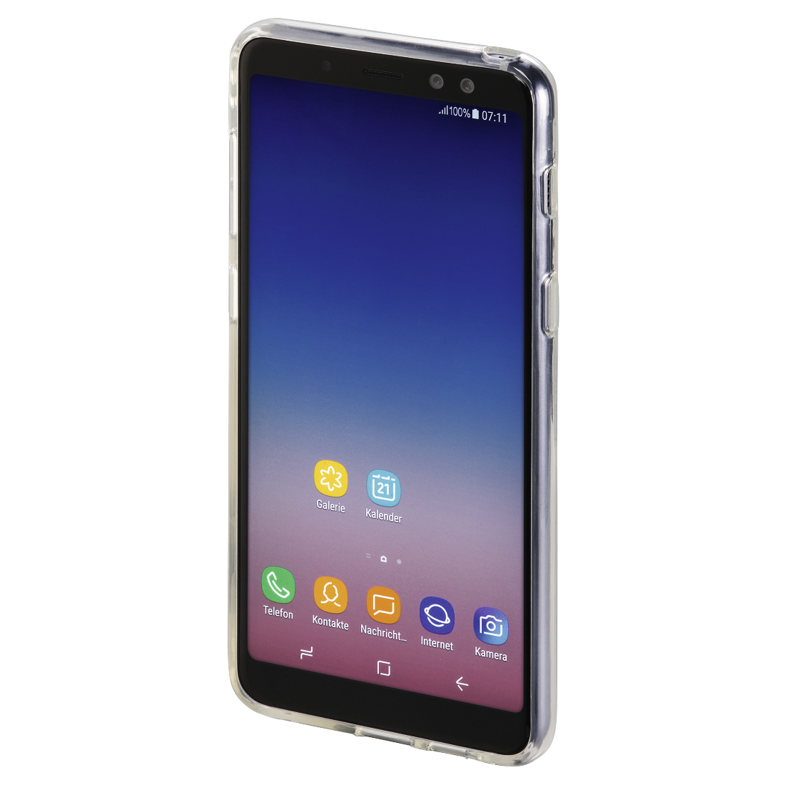 abx3 High-Res Image 3 - Hama, Coque de protection pour Samsung Galaxy A8 (2018), transparente