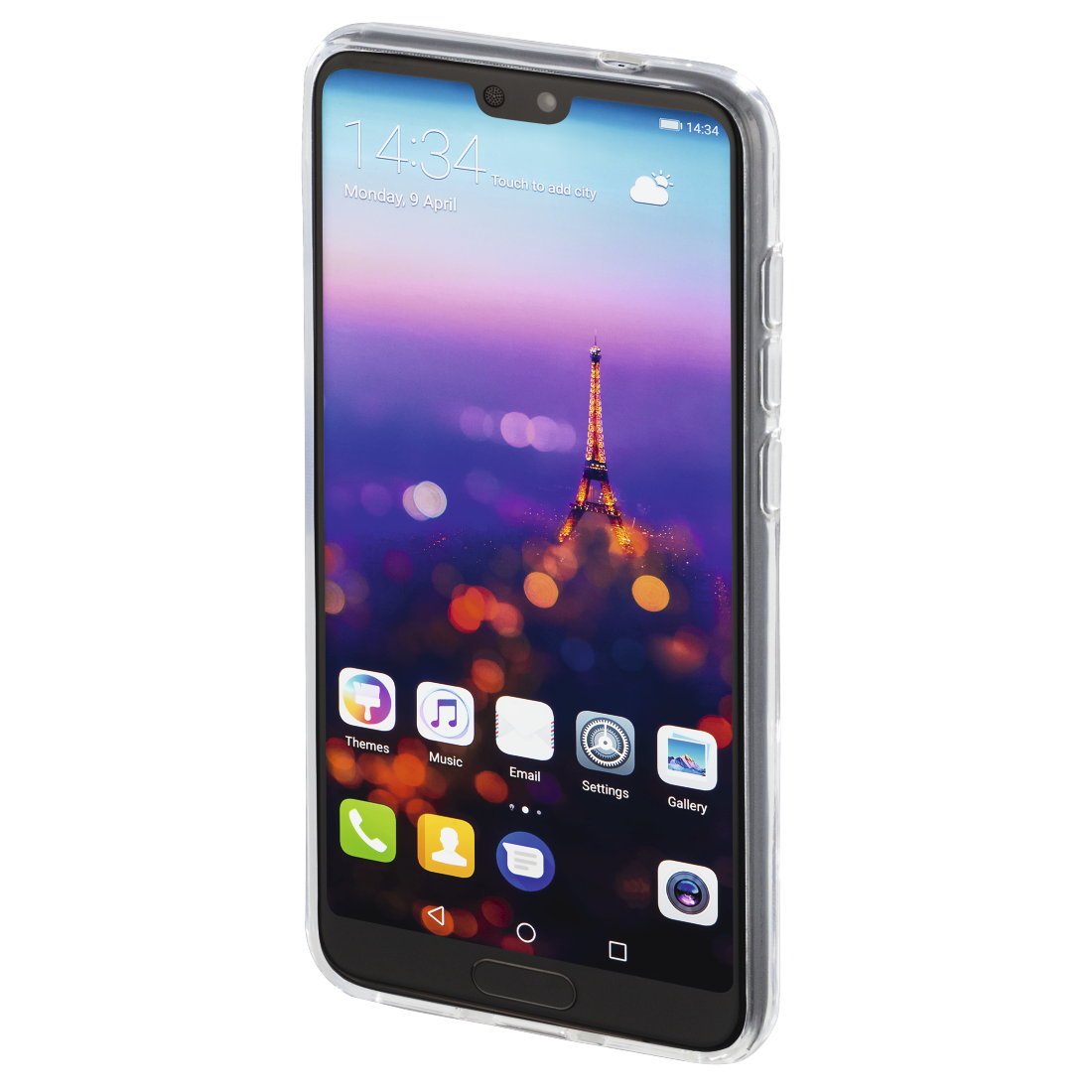 "abx3 High-Res Image 3 - Hama, Coque de protection ""Crystal Clear"" pour Huawei P20, transparente"