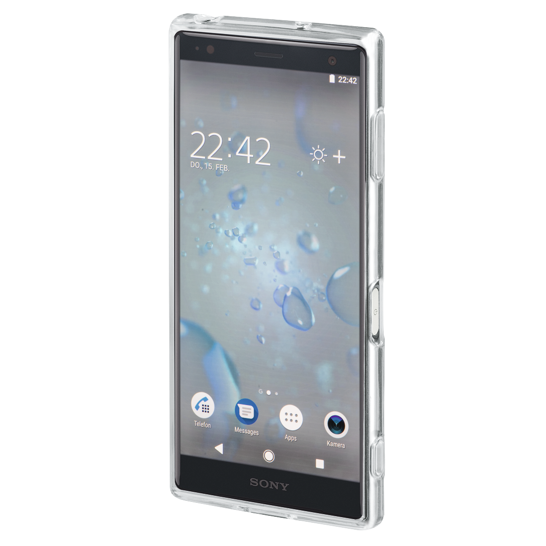 "abx3 High-Res Image 3 - Hama, Coque de protection ""Crystal Clear"" pour Sony Xperia XZ2, transparente"