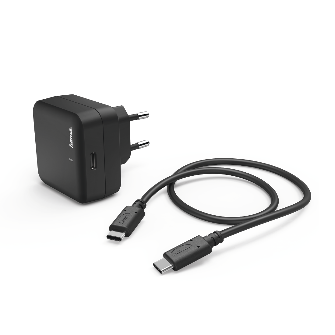 abx2 High-Res Image 2 - Hama, Kit charge secteur, port USB T.-C, Power Delivery (PD), 3A, noir