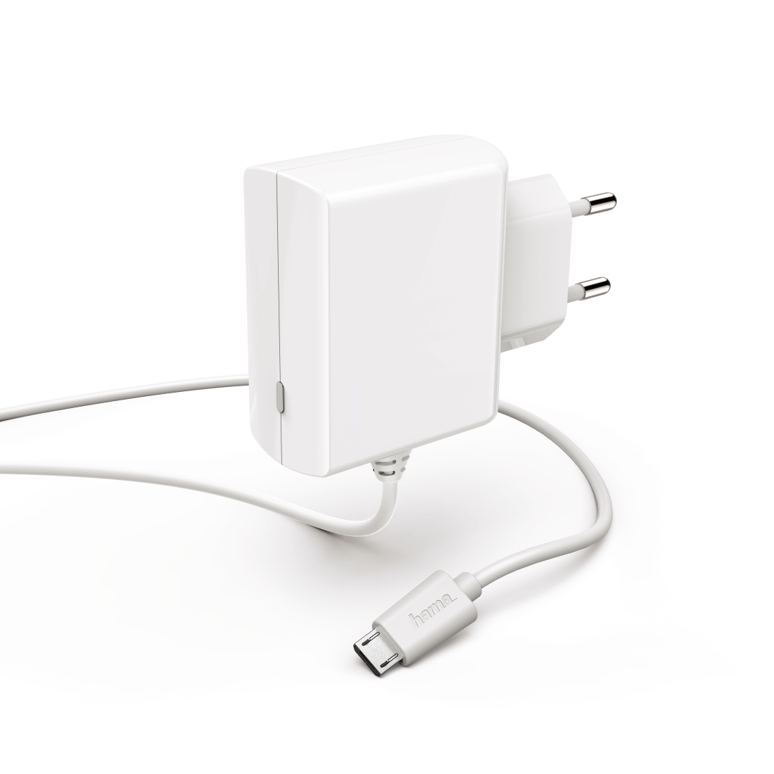 abx High-Res Image - Hama, Chargeur micro-USB, 2,4 A, blanc