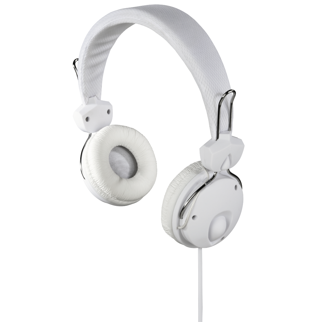"abx High-Res Image - Hama, Casque stéréo supra-aural ""Fun4Music"", blanc"