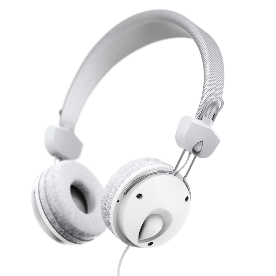 "abx4 High-Res Image4 - Hama, Casque stéréo supra-aural ""Fun4Music"", blanc"