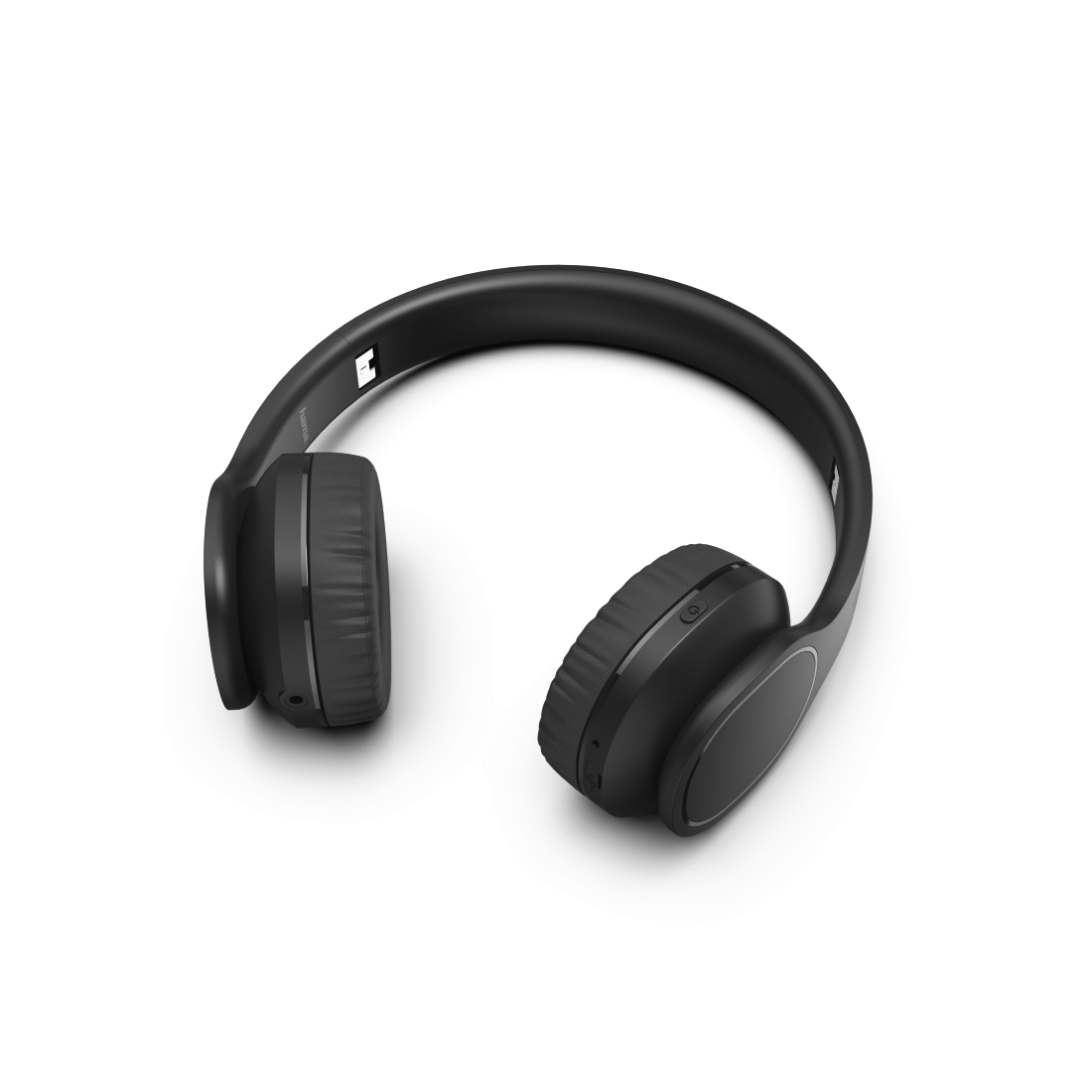 "abx2 High-Res Image 2 - Hama, Casque Bluetooth® ""Touch"", supra-aural, micro., comm. tactile, noir"