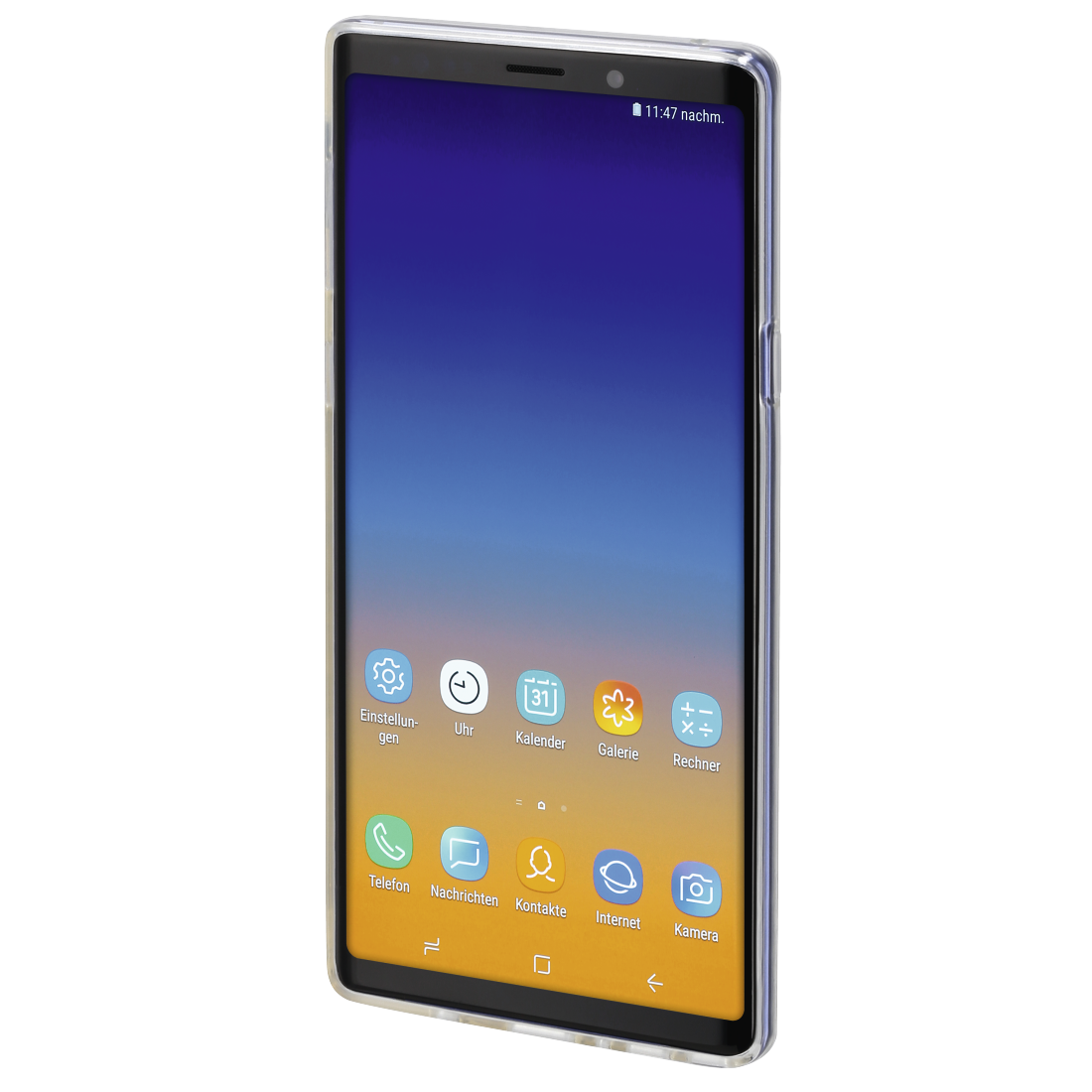 "abx3 High-Res Image 3 - Hama, Coque ""Crystal Clear"" pour Samsung Galaxy Note 9, transparente"
