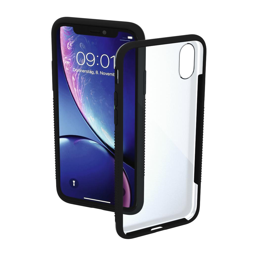 coque iphone xr transparente motif rigide