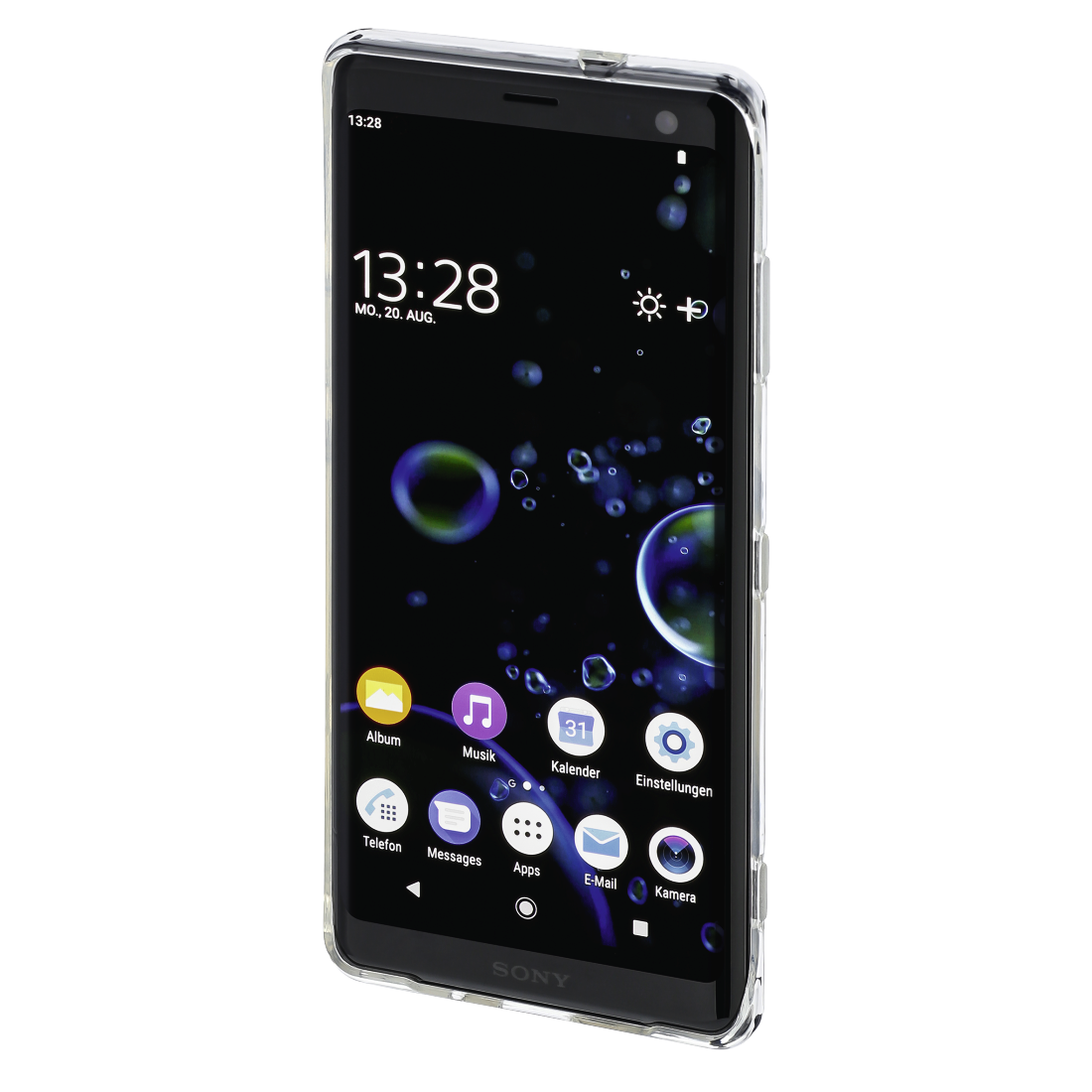 abx3 High-Res Image 3 - Hama, Coque de protection Crystal Clear pour Sony Xperia XZ3, transparente