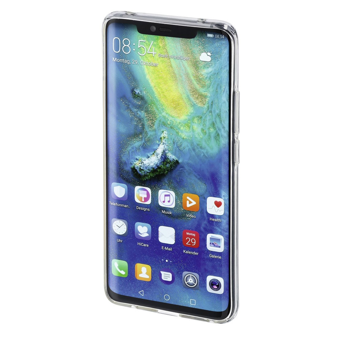 "abx3 High-Res Image 3 - Hama, Coque de protection ""Crystal Clear"" pour Huawei Mate 20 Pro, transpar."