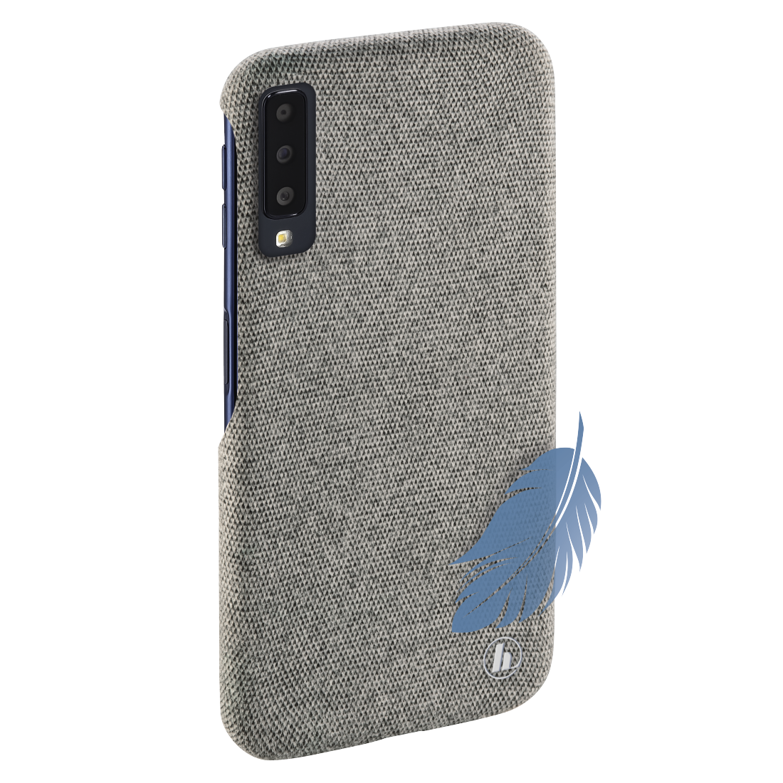 "abx2 High-Res Image 2 - Hama, Coque de protection ""Cozy"" pr Samsung Galaxy A7 (2018), gris clair"