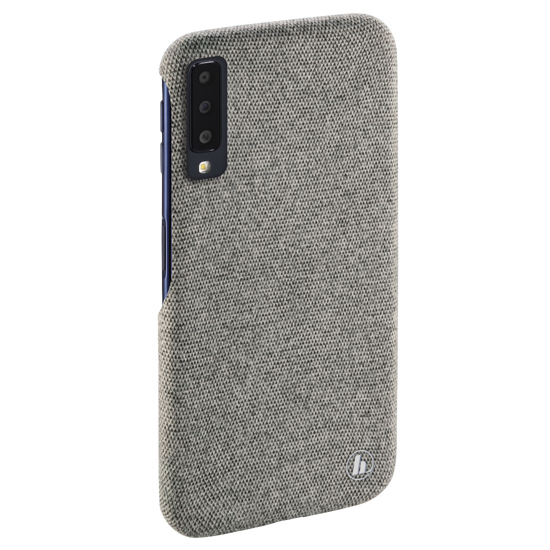 "abx4 High-Res Image4 - Hama, Coque de protection ""Cozy"" pr Samsung Galaxy A7 (2018), gris clair"