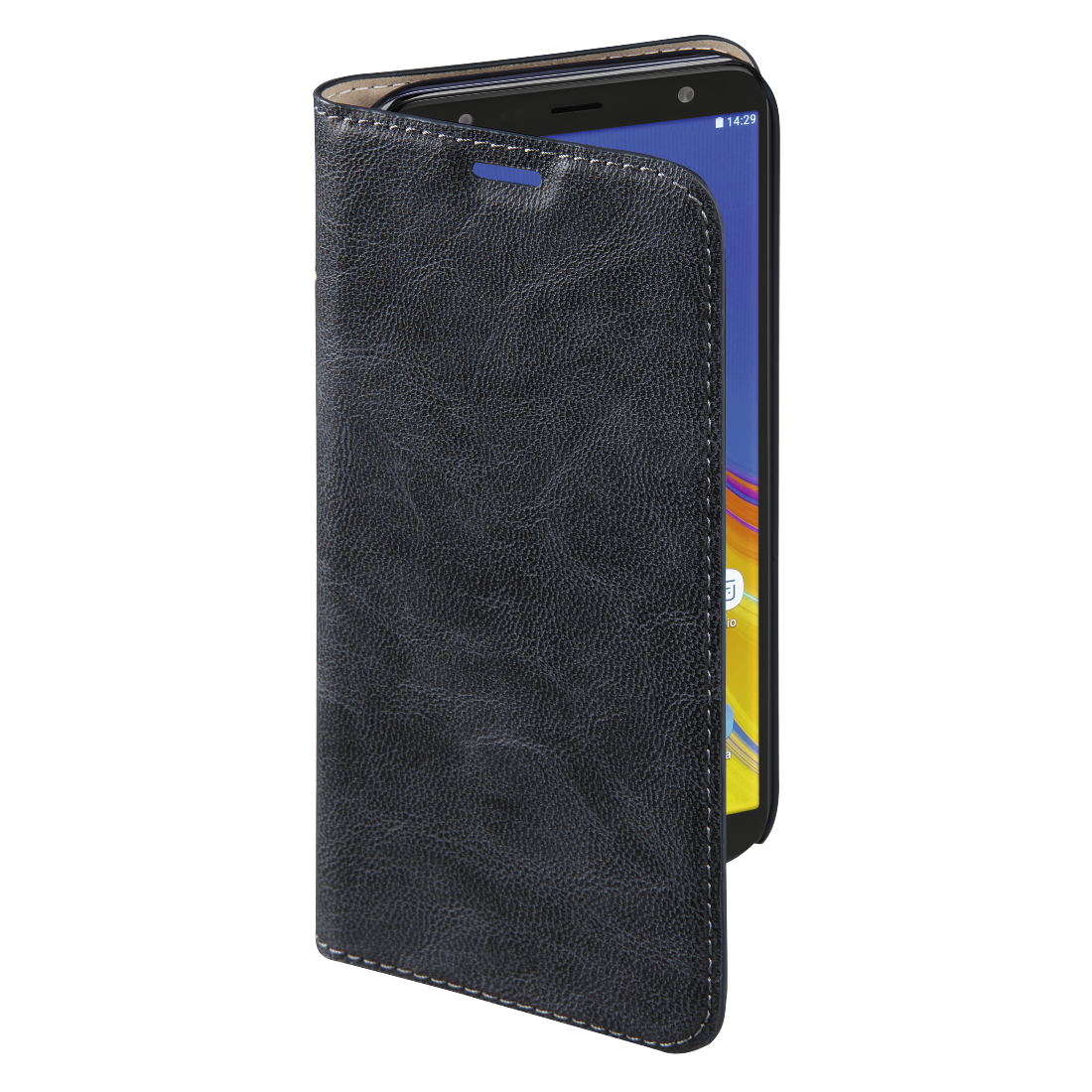 "abx3 High-Res Image 3 - Hama, Étui portefeuille ""Guard Case"" pour Samsung Galaxy J6+, bleu"