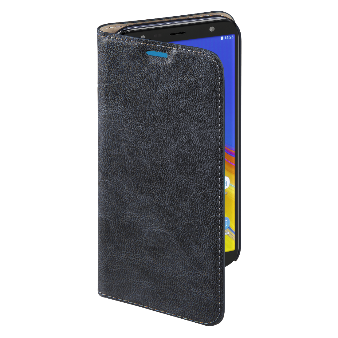 "abx3 High-Res Image 3 - Hama, Étui portefeuille ""Guard Case"" pour Samsung Galaxy J4+, bleu"