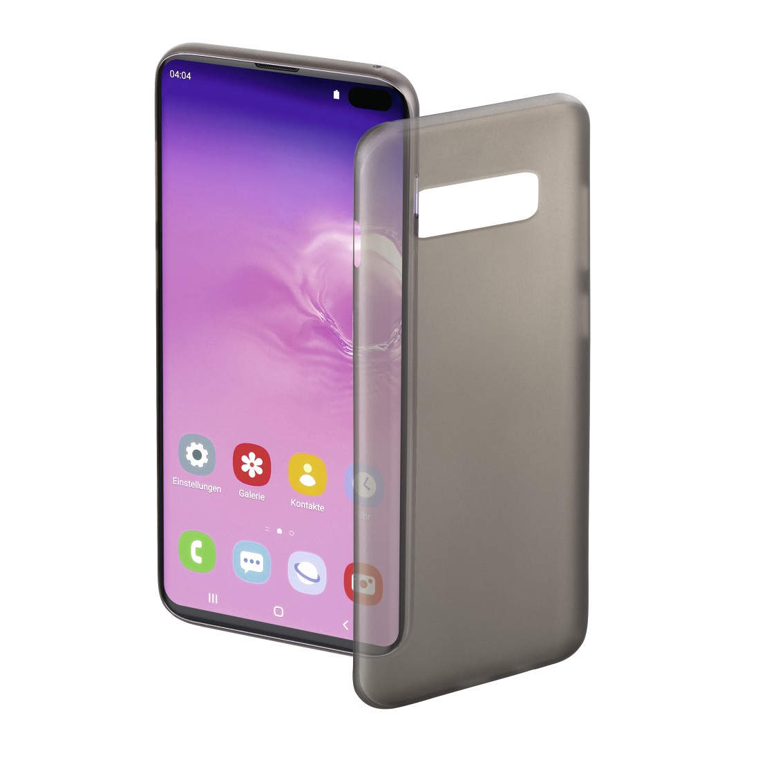 "abx High-Res Image - Hama, Coque de protection ""Ultra Slim"" pour Samsung Galaxy S10+, noire"