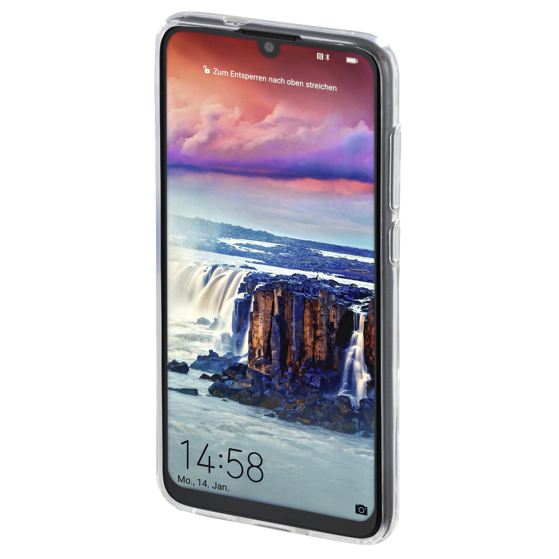"abx3 High-Res Image 3 - Hama, Coque de protection ""Crystal Clear"" pour Huawei P smart 2019/Honor 10 Lite"