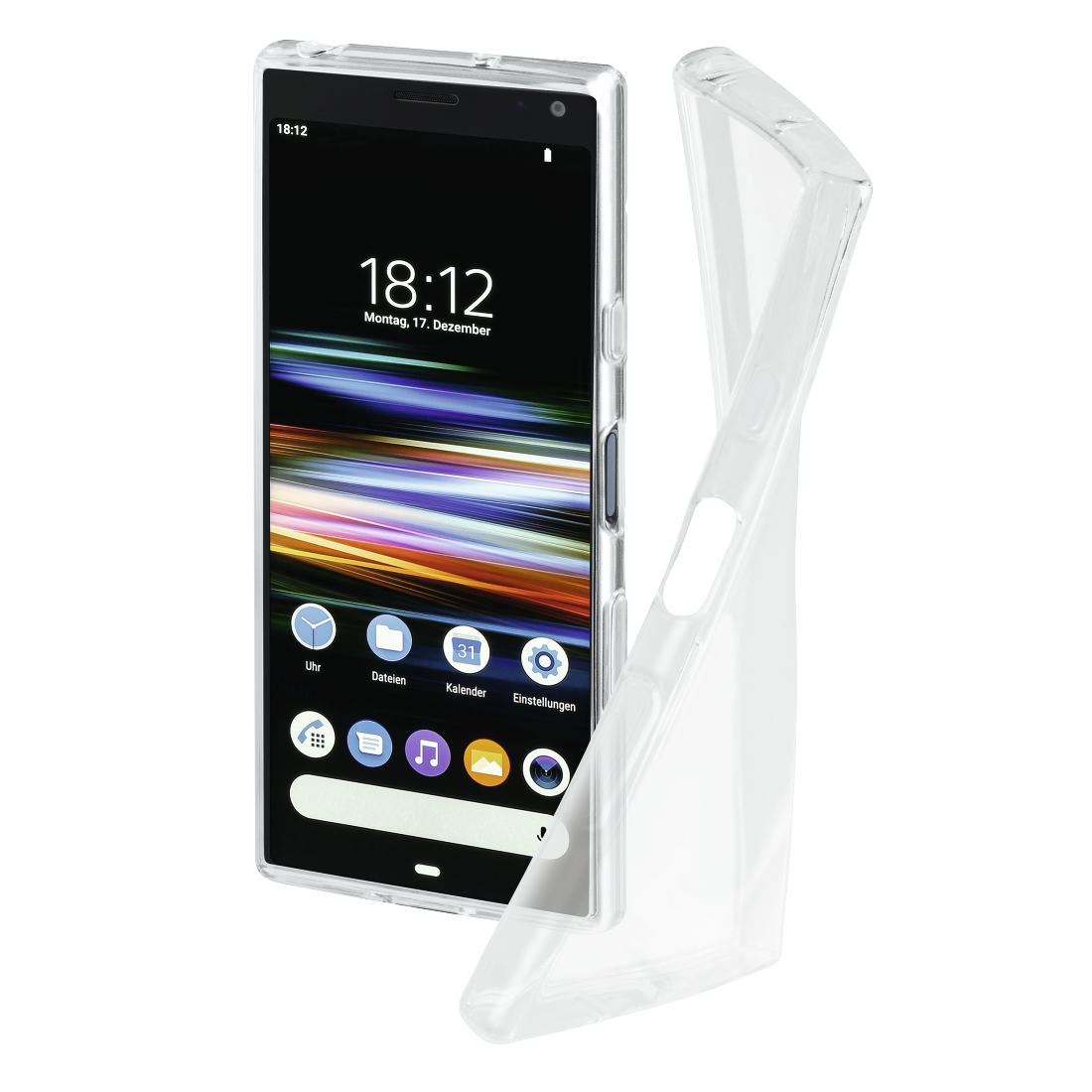 "abx High-Res Image - Hama, Coque de protection ""Crystal Clear"" pour Sony Xperia 10, transparente"