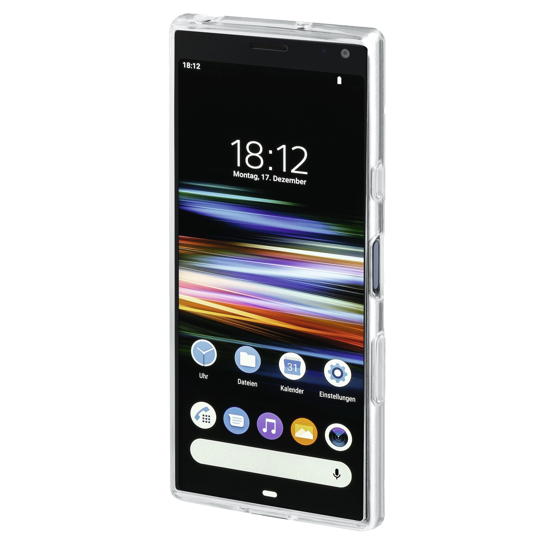 "abx3 High-Res Image 3 - Hama, Coque de protection ""Crystal Clear"" pour Sony Xperia 10, transparente"