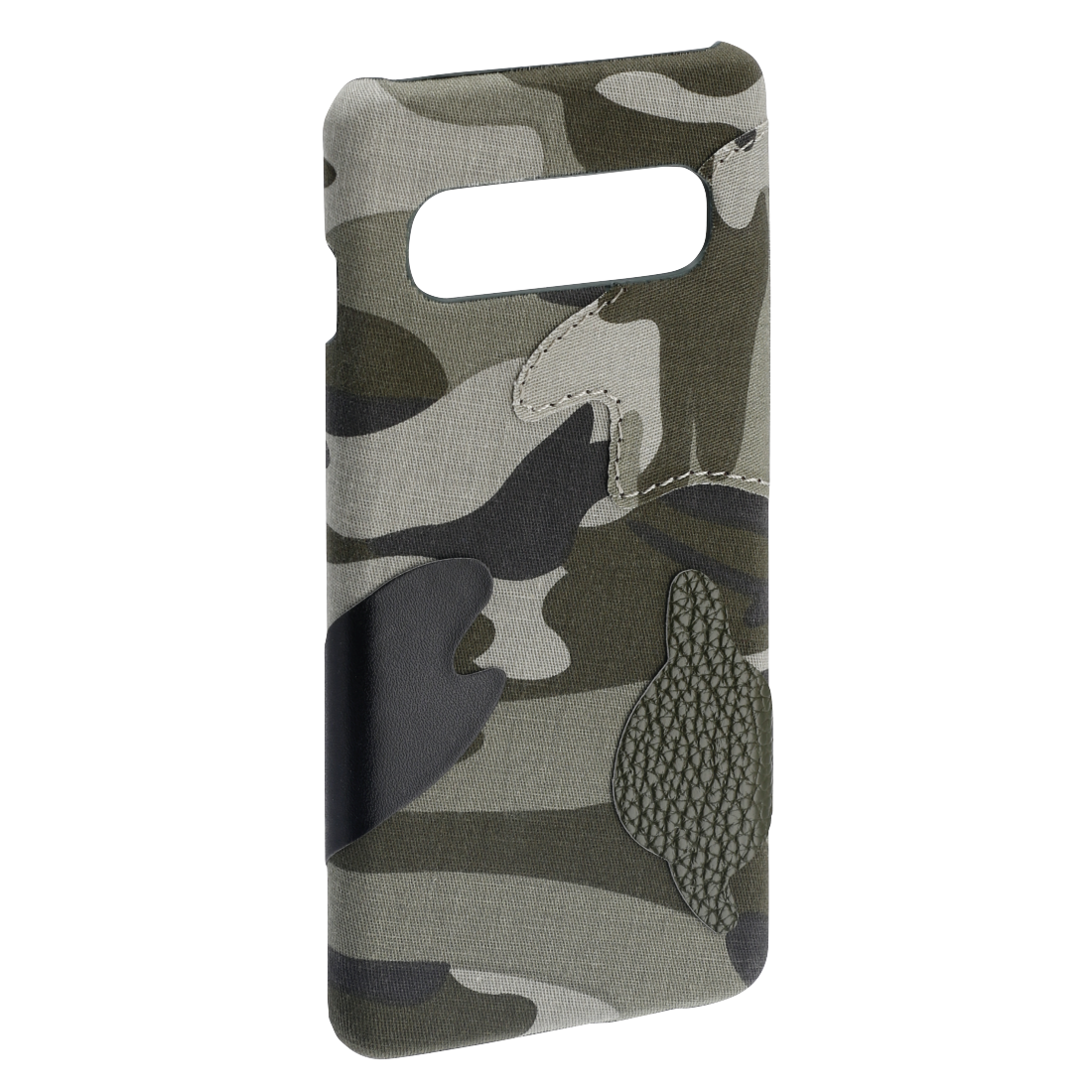 "abx2 High-Res Image 2 - Hama, Coque de protection ""Camouflage"" pour Samsung Galaxy S10, verte"