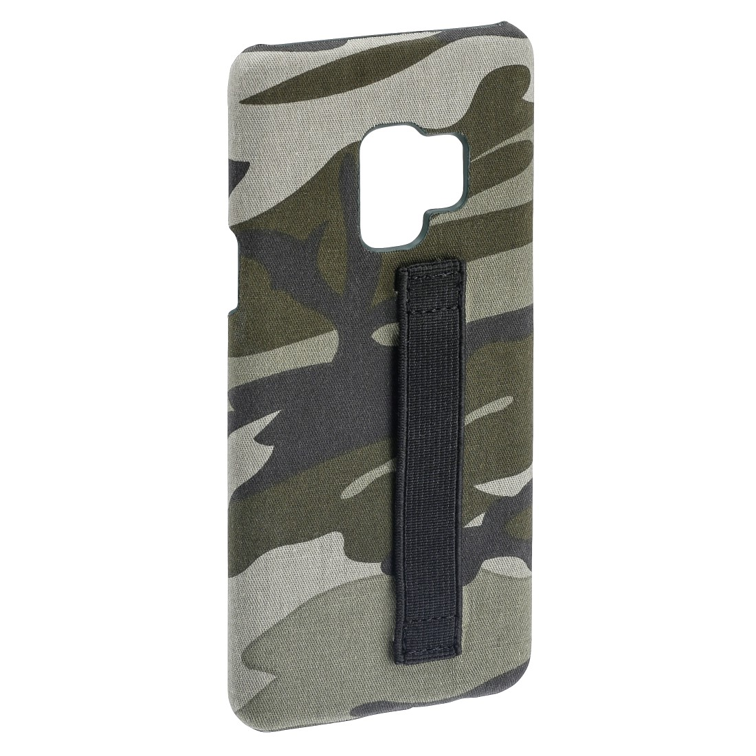 "abx2 High-Res Image 2 - Hama, Coque de protection ""Camouflage Loop"" pour Samsung Galaxy S9, verte"