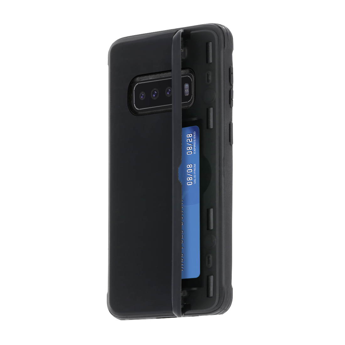 "abx2 High-Res Image 2 - Hama, Coque de protection ""Rugged"" pour Samsung Galaxy S10+, noir"