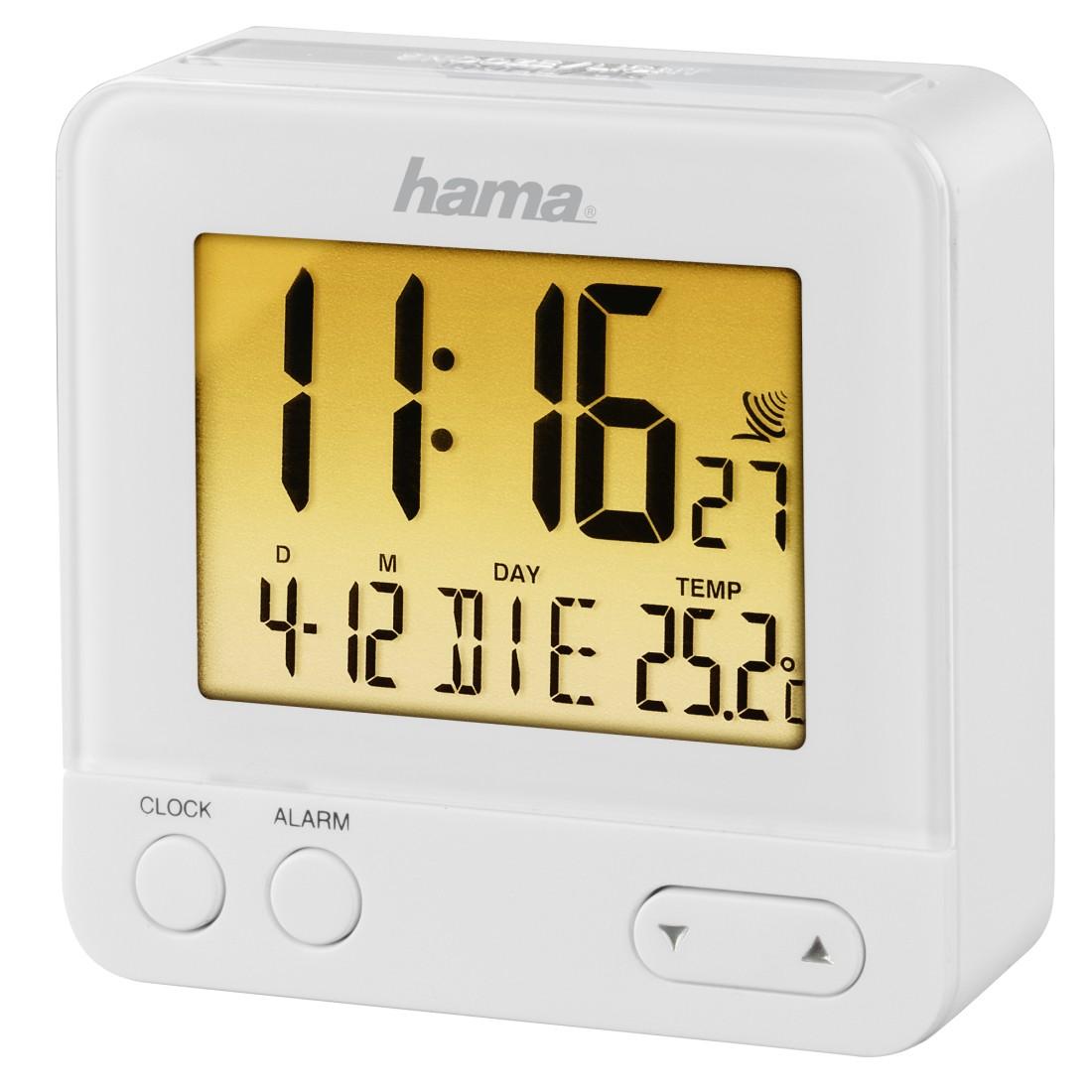 00186350 Hama Réveil radio piloté
