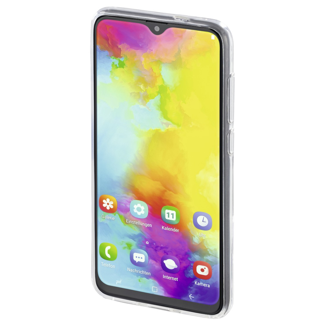"abx3 High-Res Image 3 - Hama, Coque de protection ""Crystal Clear"" pr Samsung Galaxy M20, transpar."